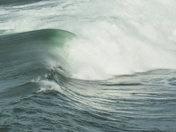 Green wave breaking and surf